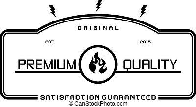 modern vintage logo template theme vector art illustration