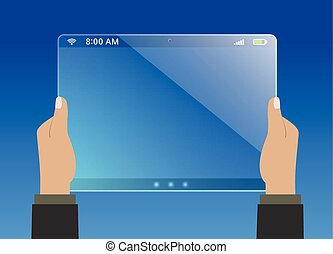Modern virtual tablet