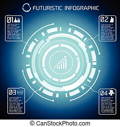 Modern Virtual Technology Infographics