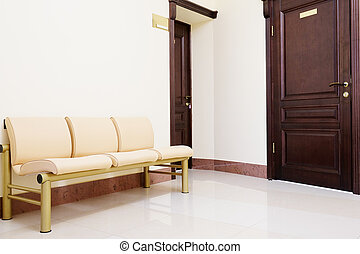 dental clinic - Modern waiting room in dental clinic
