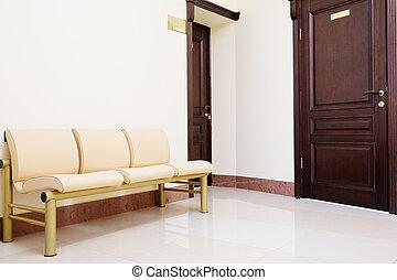 dental clinic - Modern waiting room in dental clinic