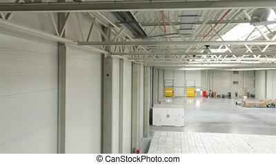 Modern warehouse  - Half rented modern warehouse