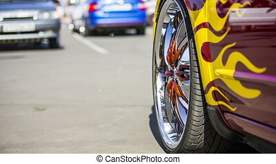 Modern Wheel Disks Of Original Design