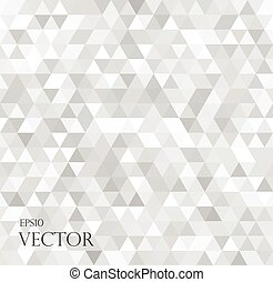 modern white abstract background with triangles