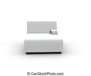 Modern White Lounge