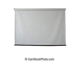 modern white screen