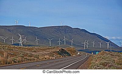 Modern Wind Mill Power Generators