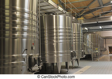 Modern Winery in a castle in Margaux, most famous wine in...