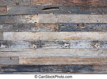 Modern wooden fence background