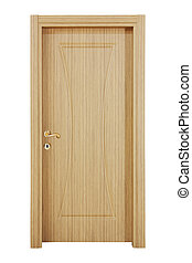 Modern wooden interior door