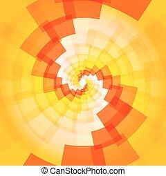 Modern yellow orange background