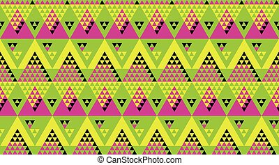 modern zig-zag seamless vector pattern for surface design....