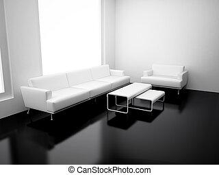 moderne, appartement