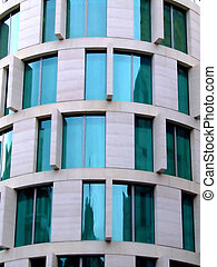 moderne architectuur, detail
