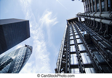 moderne architectuur, futuristisch