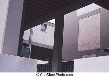 moderne architektur, details