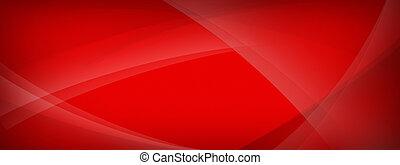 moderne, arrière-plan rouge, résumé