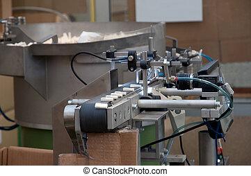 moderne, automatisé, usine, plante