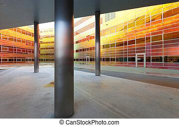 moderne, bâtiment bureau, dans, almere