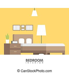 moderne, badroom, illustration, vecteur, conception, intérieur, icon.
