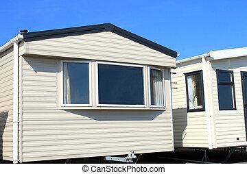 caravane moderne parc maison caravane bleu caravane image recherchez photos clipart. Black Bedroom Furniture Sets. Home Design Ideas