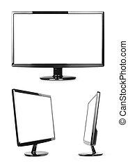 moderne, computer, display