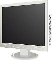 moderne, computermonitor
