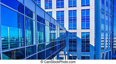 moderne, constitué,  architecture,  skywalk