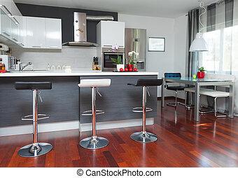 moderne, cuisine