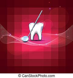 moderne, dentale, konstruktion