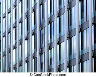 moderne, detail, architectuur