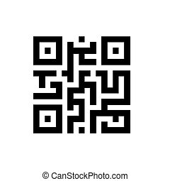 moderne, digitale informatie, data, qr, code