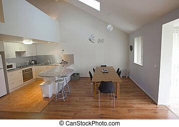 moderne, dinning, kamer