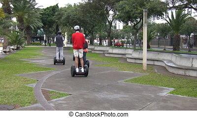 moderne, ecologisch, stedelijk vervoer