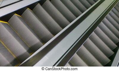 moderne, escalator