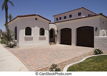 moderne, exterior til hjem