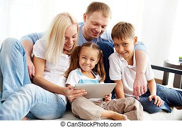 moderne, famille