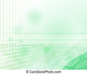 moderne, groene achtergrond