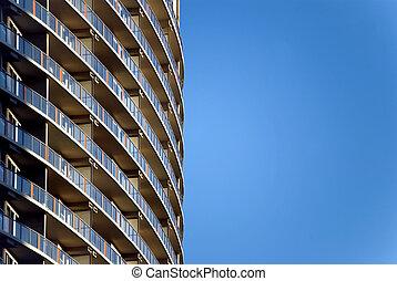 moderne, high-rise