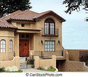 moderne, hus