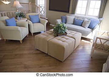moderne, interior til hjem