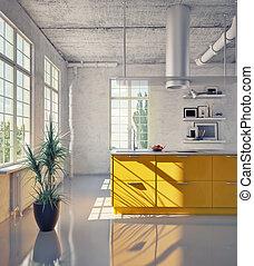 moderne, keuken