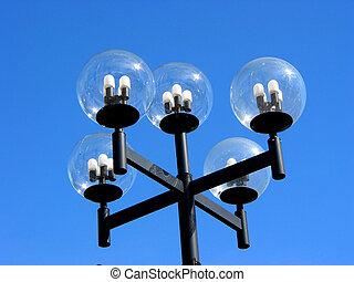 moderne, lightpost