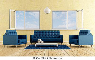 moderne, livingroom