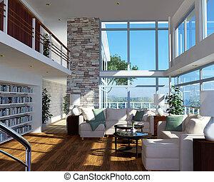 moderne, maison