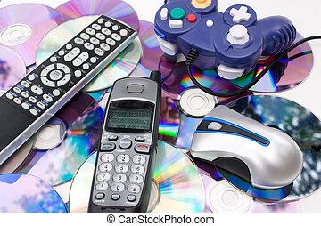 moderne, medier, controllere