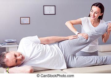 moderne, rehabilitering, fysioterapi