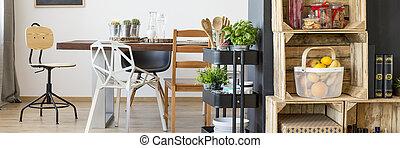 moderne, salle manger
