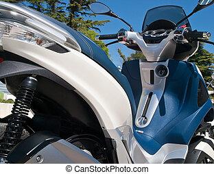 moderne, scooter