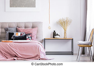 Patterned moderne helder bed kleuren zebra slaapkamer